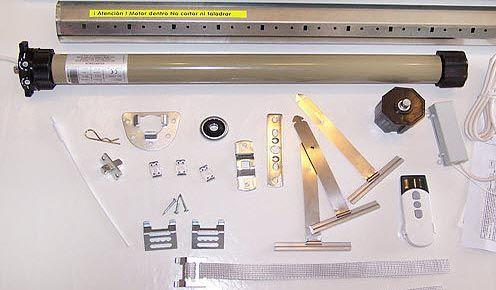 Instalacion de persianas multiservicios del hogar 645 - Kit motor persiana ...
