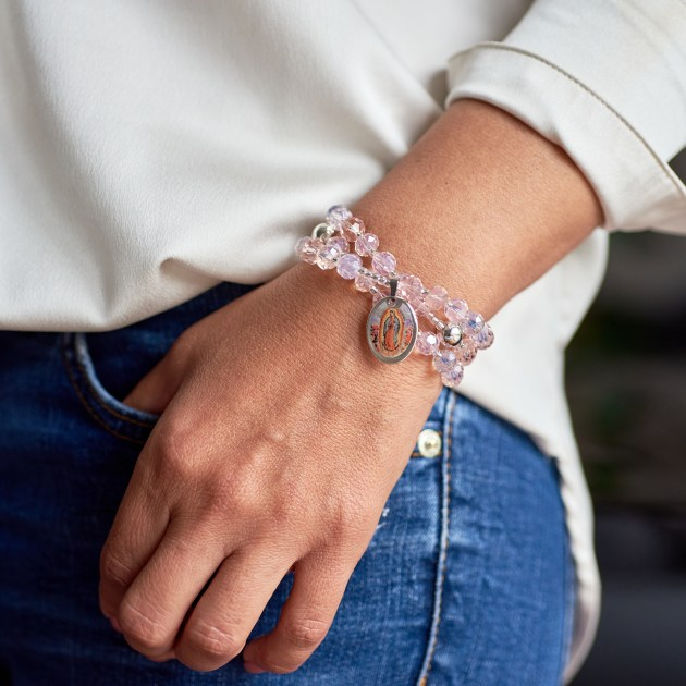 Rosenkranz-Armband Modell Alexa