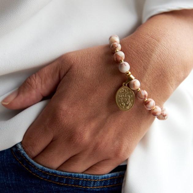Armband aus Natursteinen LORLI