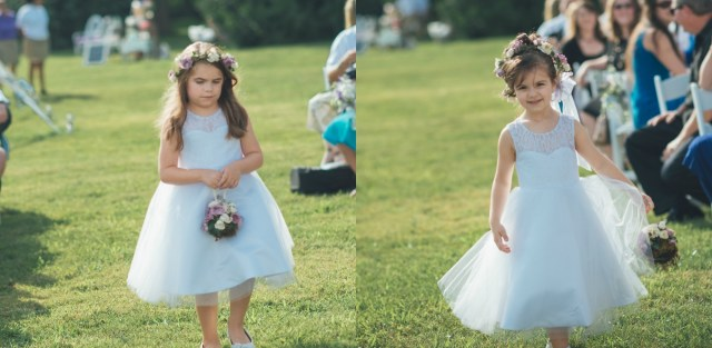 Flower Girls Aisle