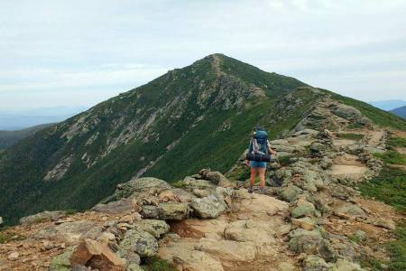 Backpacking the Franconia Ridge for Ellen Blazer's travel blog To Travel and Bloom