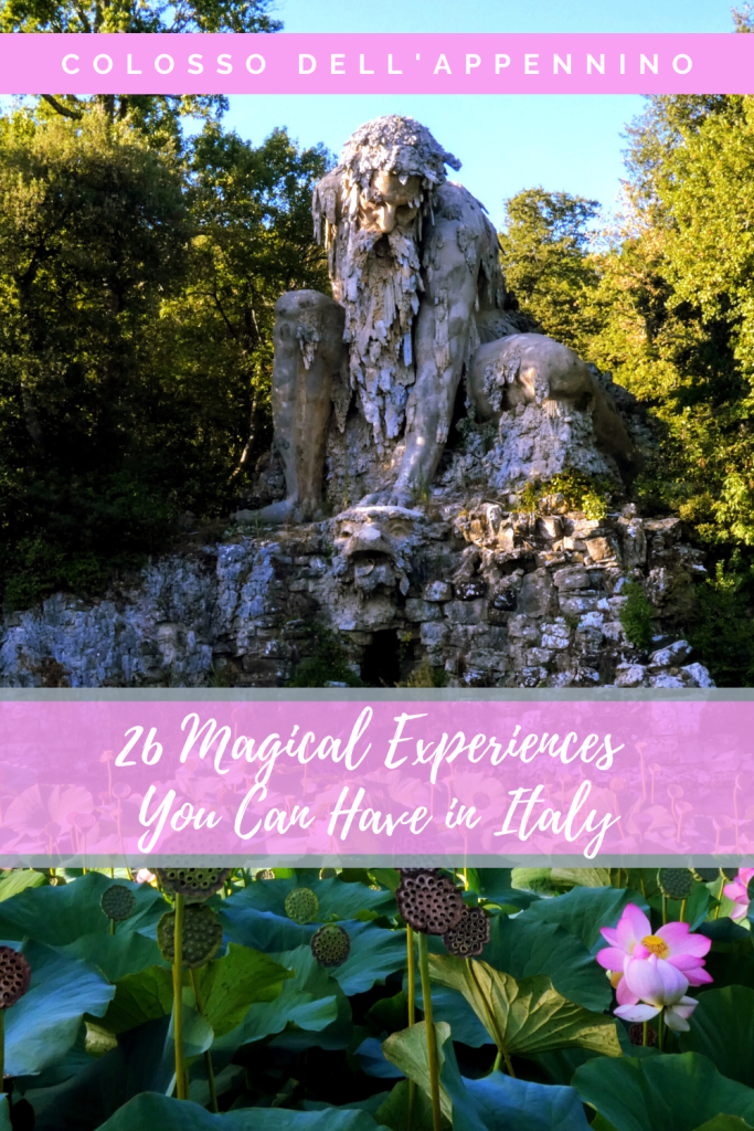 Pinterest Pin - 26 Magical Experiences You Can Have in Italy