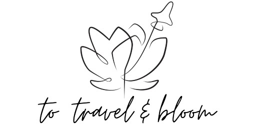 To Travel & Bloom logo