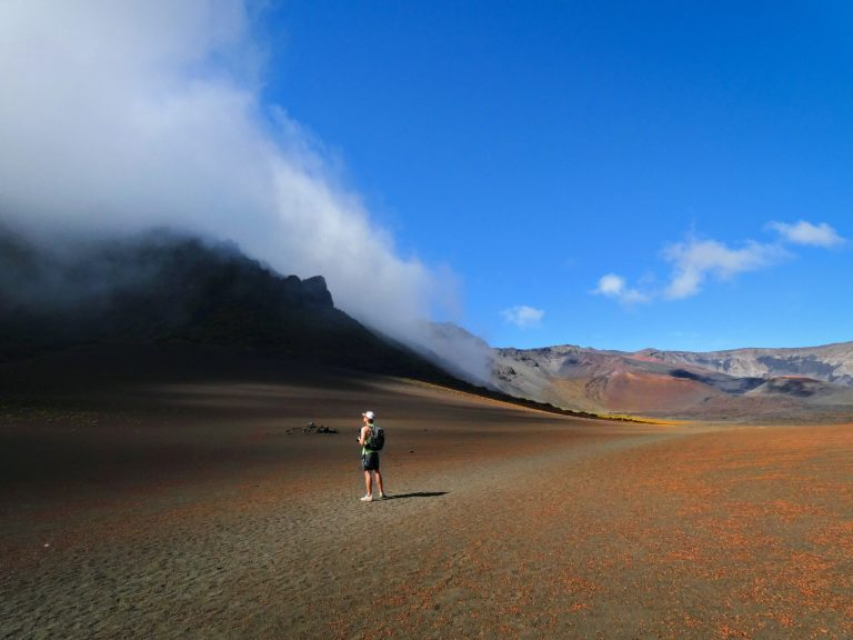 Haleakala Hike 1 scaled - Traveling to Maui during COVID may not be what you expect!
