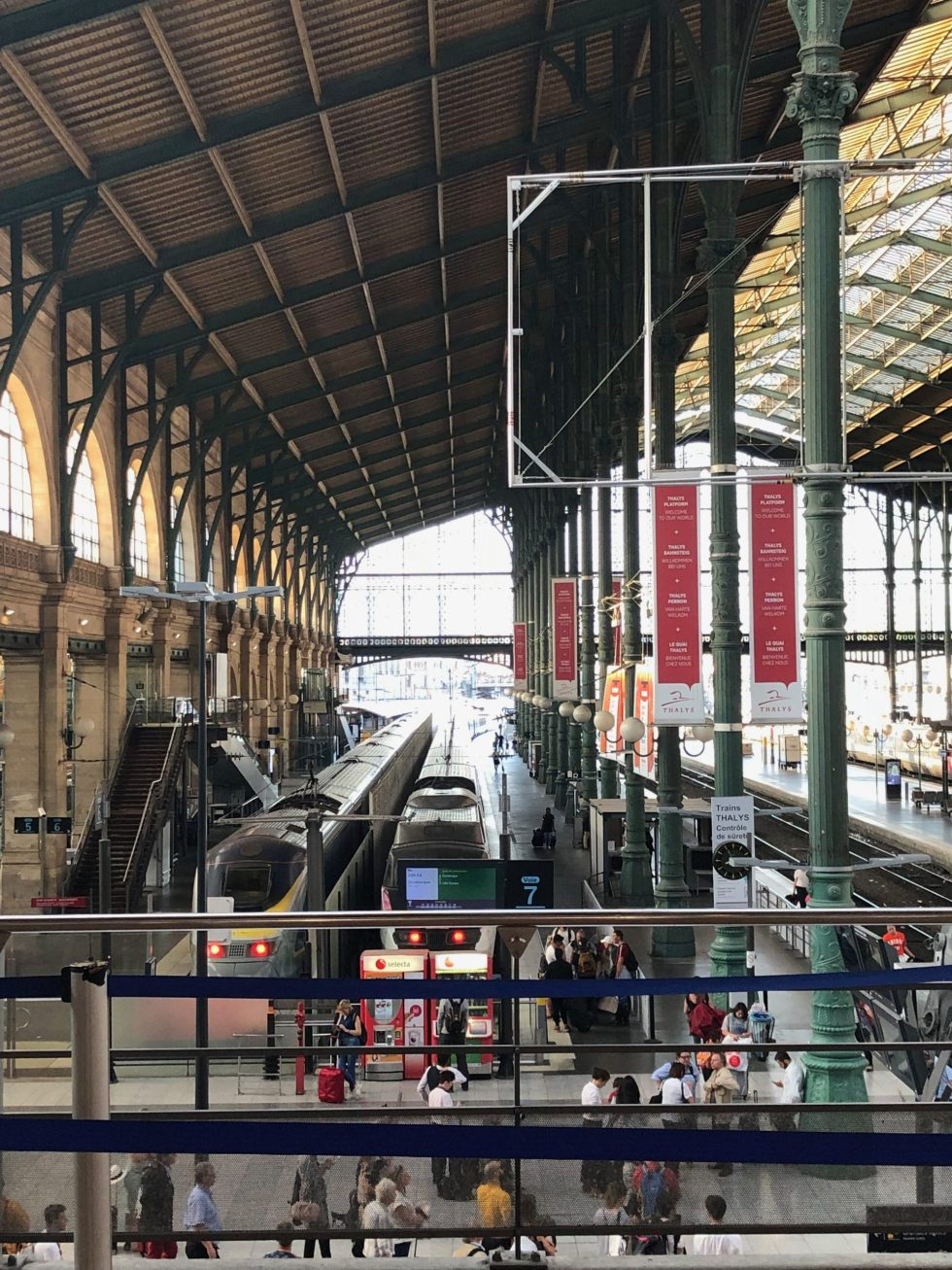 Train Station- 7 Tips for Traveling Overseas