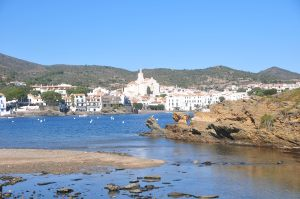 The clear waters of Cadaques