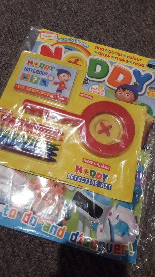 Second edition with a magnifying glass that was a huge hit in our household.