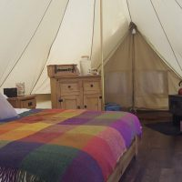 Glamping at Dundas Castle, Edinburgh
