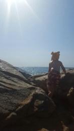 A rocky cove on the Costa Brava