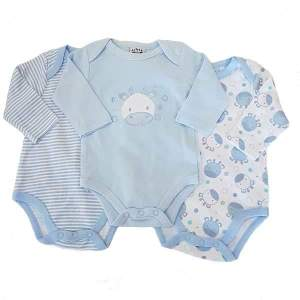 baby boy bodyvests blue