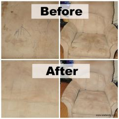 How To Clean Stains From A Microfiber Sofa Cb2 Piazza Cover Furniture And Make It Look New
