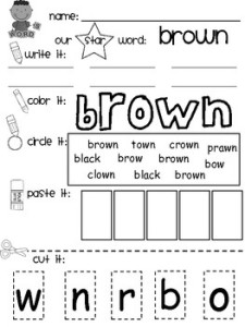 Color My World Series #9 ~ Brown. Introducing the Color