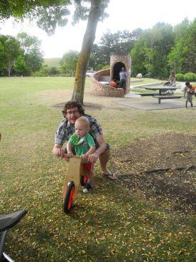 At the Bason Botanic Gardens