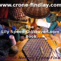 More photos of projects from the Lily Speed-O-Weave loom book