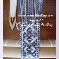 Now the corrected video for weaving on double hole rigid heddle loom