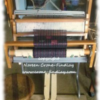 DIY How to turn a computer desk into a loom stand with treadles