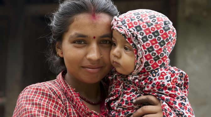 Mothers' Union – April 2015 – Women and Children of Nepal