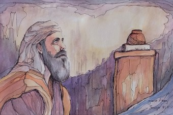Jesaja dag 10 gedig en skets