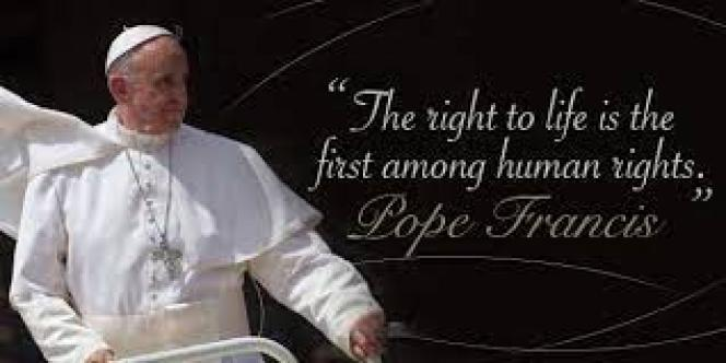 """Catholic News World on Twitter: """"RETWEET #Pope Francis #ProLife Quote """"The  Right to Life is the 1st among human Rights."""" FOLLOW @Catholicnews1… """""""