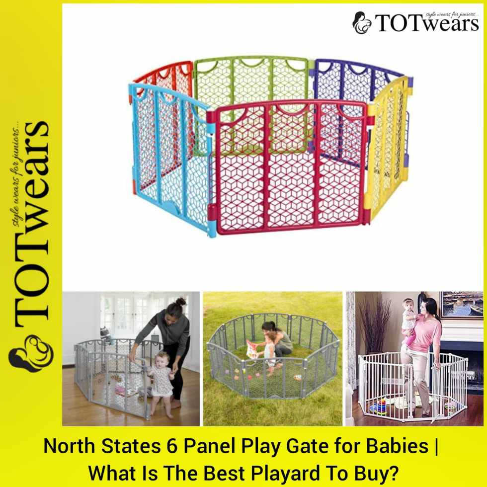 north states 6 panel play gate