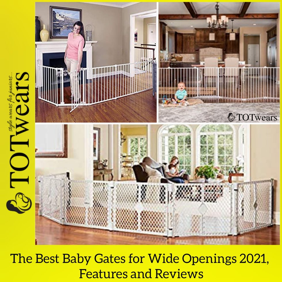 best baby gates for wide openings 2021