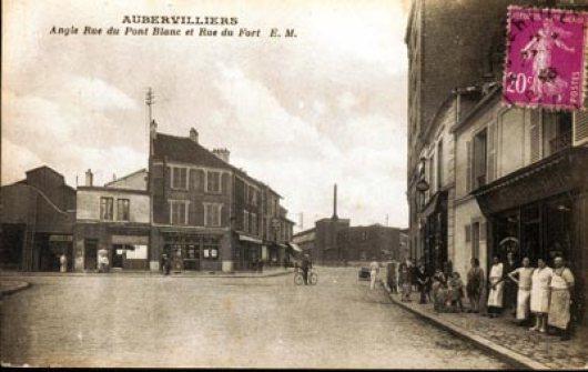 Aubervilliers angle rue du Pont Blanc