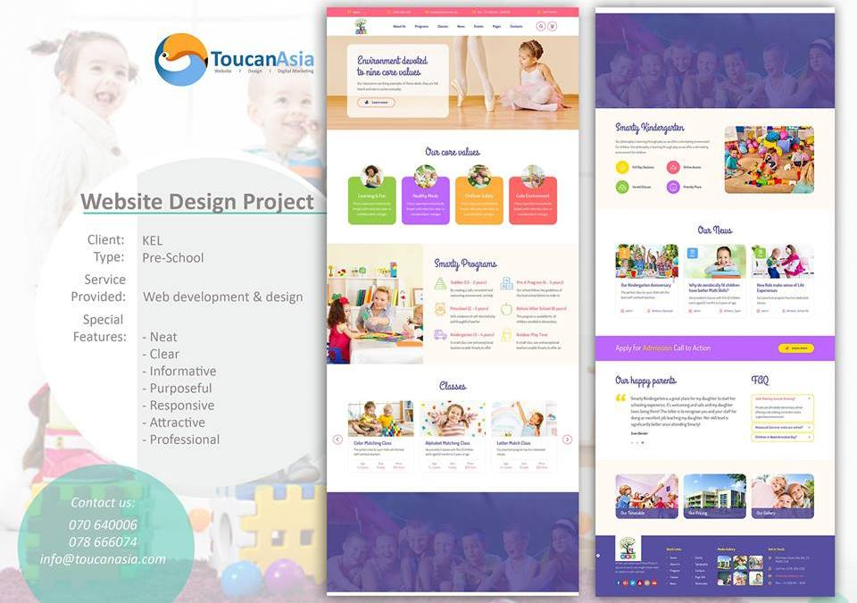 Kinder Early Learning's Website Lunching