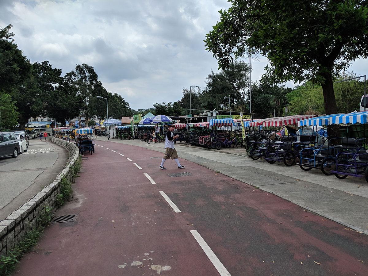 Cycling in Hong Kong - Shatin to Tai Mei Tuk Bike Ride for Families