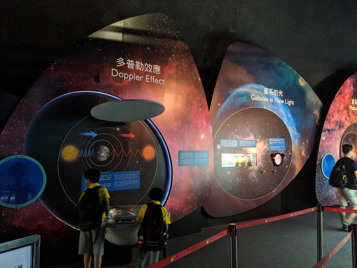 Hong Kong Space Museum | Toucan Takes Off Things to do in HK