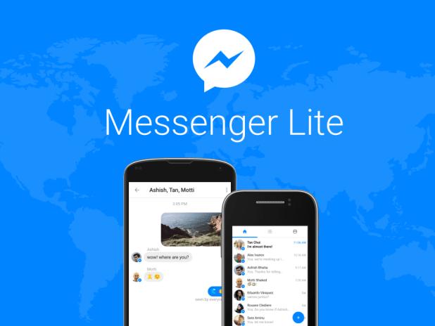 """فيسبوك ماسنجر """" لايت """" متاح في كل دول العالم"""