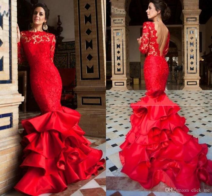latest mermaid dresses cheap online