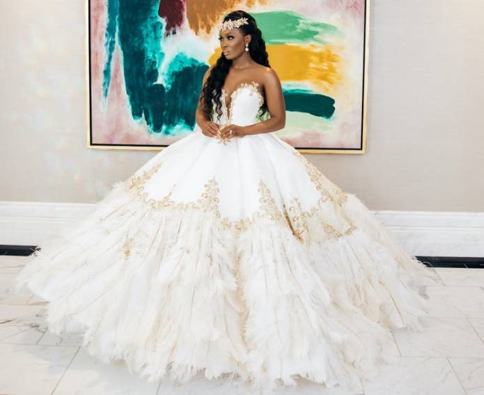 The Most Beautiful Wedding Dresses Brides Wore in 2020