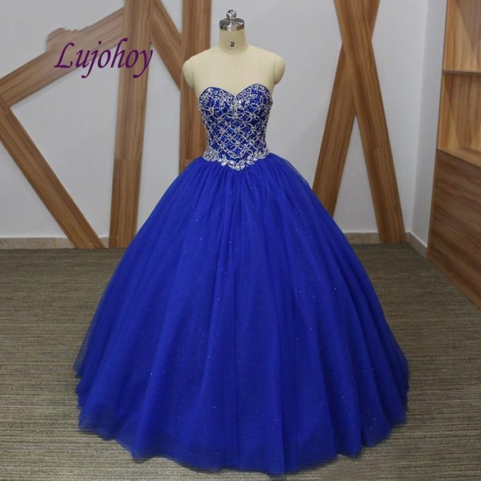 Royal Blue Luxury Quinceanera Dresses Ball Gown Plus Size 15 year old Sixteen Masquerade Sweet 16 Dress Prom Dress|Quinceanera Dresses| - AliExpress