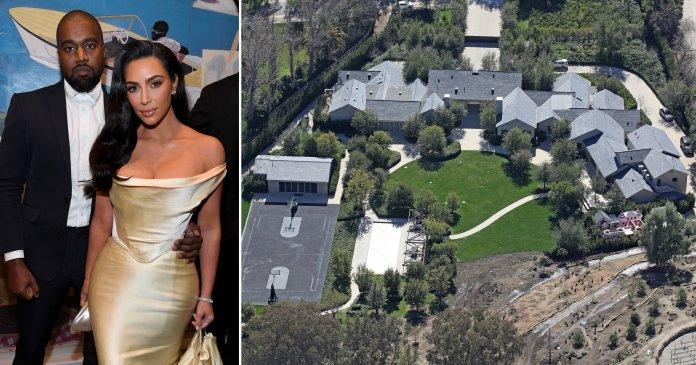 Kim Kardashian 'gets $60m mansion' as part of Kanye West divorce | Metro News