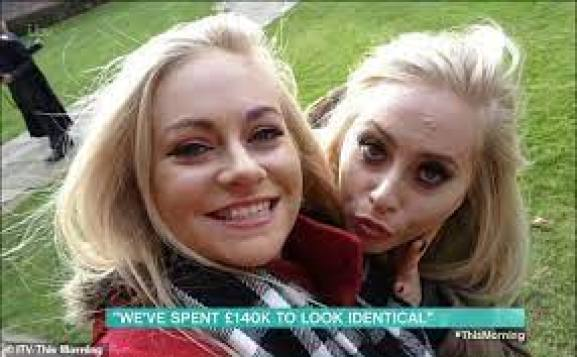 Twin Sisters Want To Have Matching Designer Vag*nasHaving Spent £140k On Surgery To Look Identical