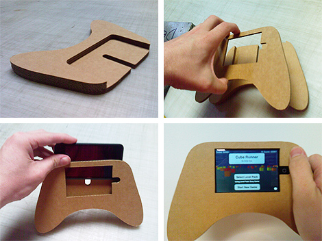 A DIY IPhone IPod Touch Hand Grip Accessory TouchArcade