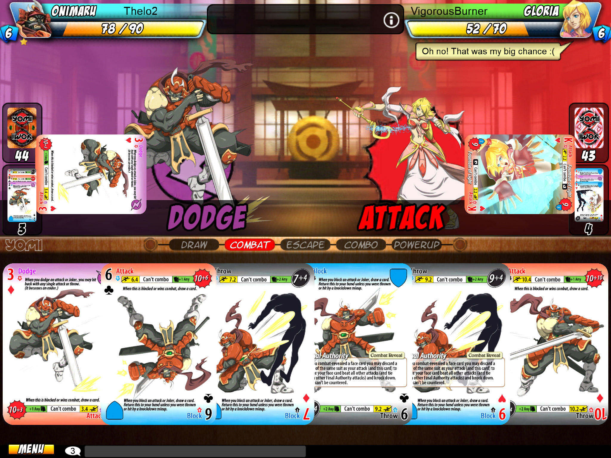Yomi on iPad Review – In Third Person