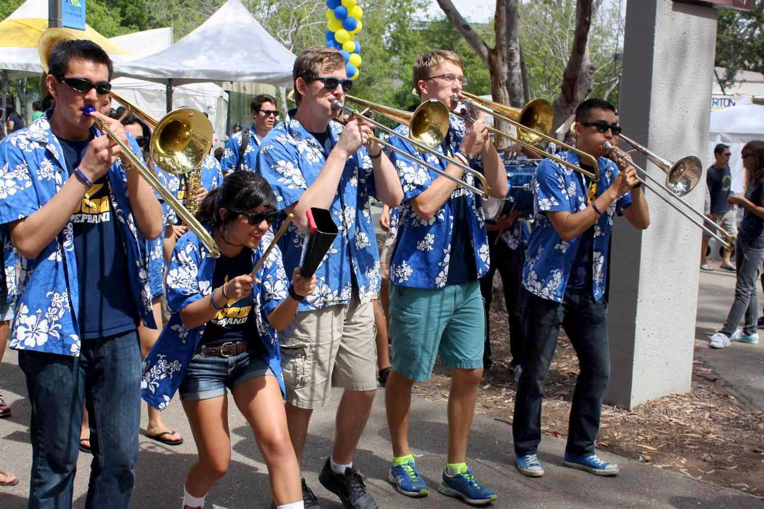 Ucsd Pep Band 2