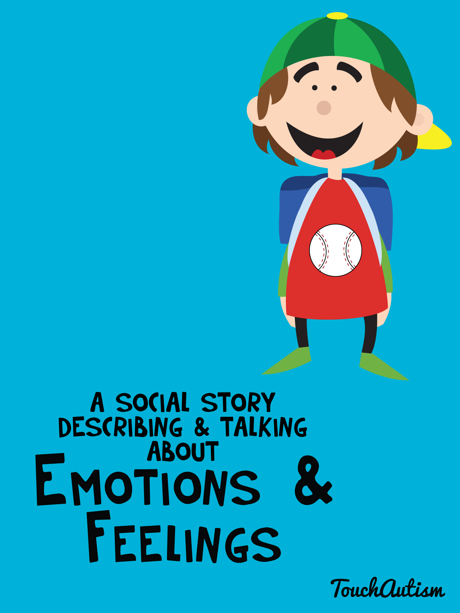 Social Story Speech App For Teaching Emotions To