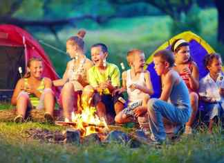 summer camping activities for kids