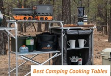 Best Camping Cooking Tables