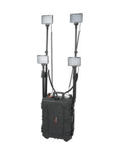Sistema de Iluminação Portátil Recarregável 288W