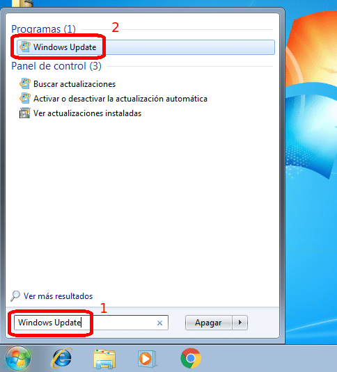 Windows Update en Windows 7