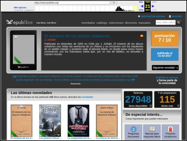 Epublibre en Archive.org