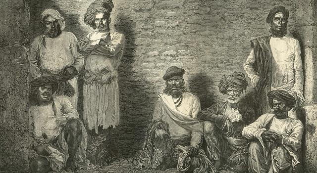 grupo de thuggees