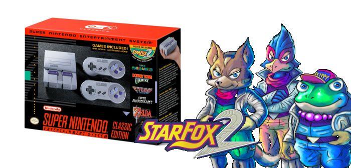SNES Classic disponible en septiembre e incluye Star Fox 2 2