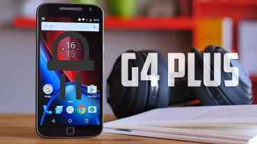 Moto G4 Plus LED