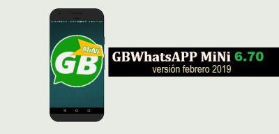 descargar gbwhatsapp mini apk 6.70 whatsapp 2019