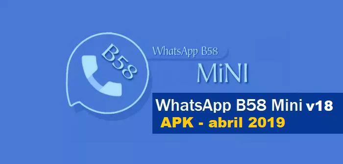 descargar whatsapp b58 mini apk 18
