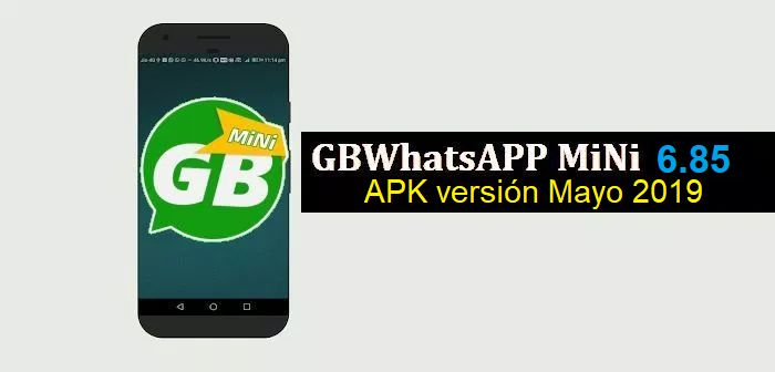 descargar gbwhatsapp mini apk 6.85